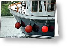 Boat Time Greeting Card