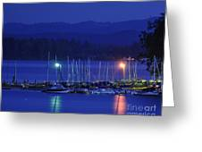 Boats At Rest Greeting Card by Scott Gould