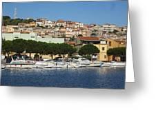 boats of Sant Antioco III Greeting Card