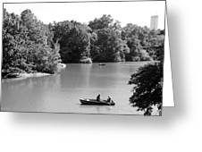 Boats On The Water Greeting Card