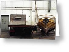 Boatworks Greeting Card