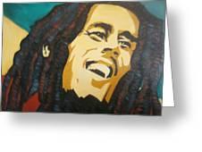 Bob Marley-amazing Story Greeting Card
