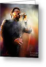 Bobby Kimball From Toto 01 Greeting Card