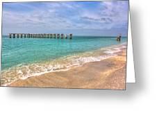 Boca Grande Broken Bridge Greeting Card