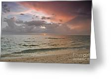 Boca Grande Florida Sunset Greeting Card