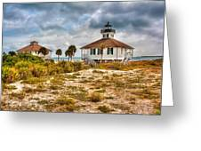 Boca Grande Lighthouse Greeting Card by Jenny Ellen Photography