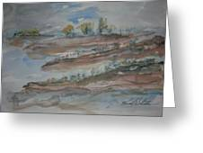 Bodega Bay Sand Dunes Greeting Card