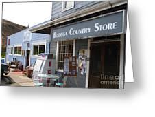 Bodega Country Store . Bodega Bay . Town Of Bodega . California . 7d12452 Greeting Card by Wingsdomain Art and Photography