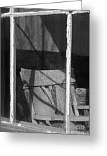 Bodi Ghost Town Window Greeting Card