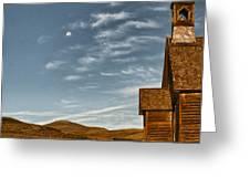 Bodie California Church Greeting Card