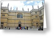 Bodleian Library Greeting Card