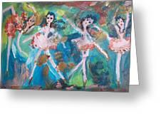 Bog Fairies Greeting Card