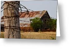 Bois D'arc Barn Greeting Card