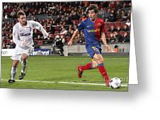 Bojan Krkic Stroke 2 Greeting Card