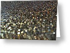 Bokeh Bling Greeting Card