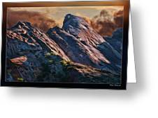 Bold Boulders Greeting Card