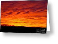 Bold Sunset Greeting Card