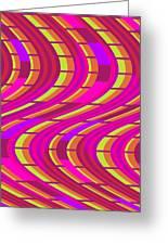 Bold Swirl  Greeting Card