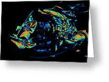 Tb Cosmic Swirl Greeting Card
