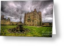 Bolsover Castle And Garden Greeting Card