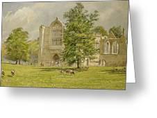 Bolton Abbey  Greeting Card