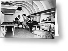 Bomb Shelter, 1955 Greeting Card