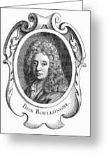 Bon De Boullongne Greeting Card