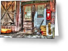 Bon Secour Door Greeting Card