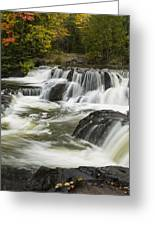 Bond Falls Upper 4 Greeting Card