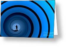 Bond Man Greeting Card