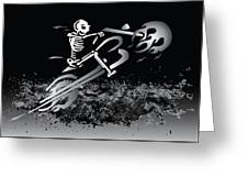 Bone Ride Greeting Card