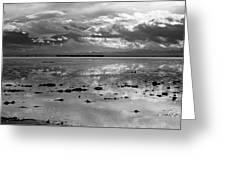 Bonneville Salt Flats Two Greeting Card