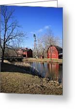 Bonneyville Mill Greeting Card