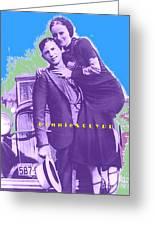 Bonnie Clyde Greeting Card