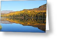 Bonnie Lake Reflections Greeting Card