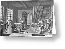 Bookbinder, 1763 Greeting Card