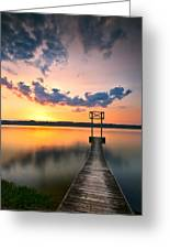 Booker T Dock 1 Greeting Card by Steven Llorca