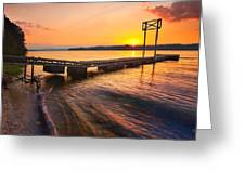 Booker T Dock 3 Greeting Card