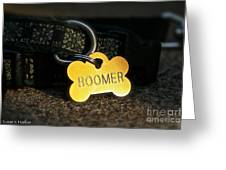 Boomer Gear Greeting Card