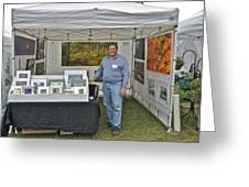 Booth At Saint Clair Shores Greeting Card
