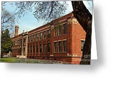 Border Star Elementary School Kansas City Missouri Greeting Card