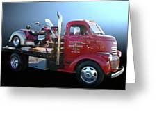 Boss Hoss Truck Greeting Card