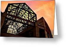 Boston - Faneuil Hall Market Place Greeting Card