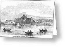 Boston: Almshouse, 1852 Greeting Card