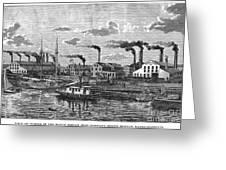 Boston: Iron Foundry, 1876 Greeting Card