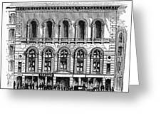 Boston: Tremont Temple Greeting Card by Granger