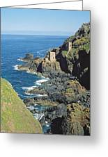 Botallack Mine Greeting Card