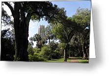 Botanical Gardens Florida Greeting Card