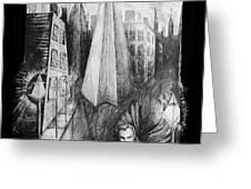 Boulevard Of Broken Dreams Greeting Card