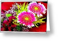 Bouquet De La  Passion Greeting Card
